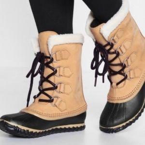 Sorel Caribou slim leather waterproof boots